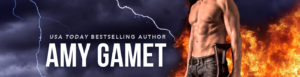 USA Today Bestselling Author Amy Gamet