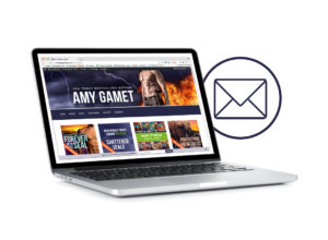 Sign up for Amy's Newsletter