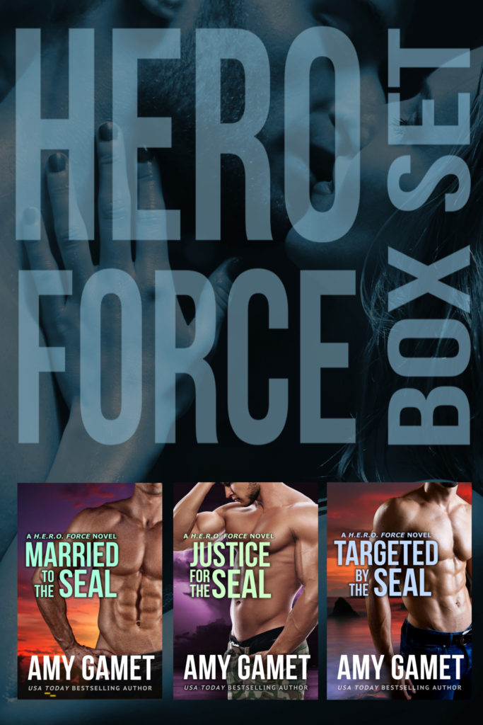 Book Cover: HERO Force Box Set: Books Four - Six