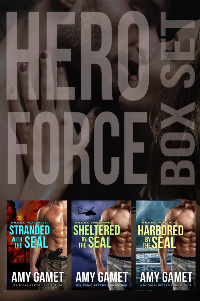 Book Cover: HERO Force Box Set: Books One - Three