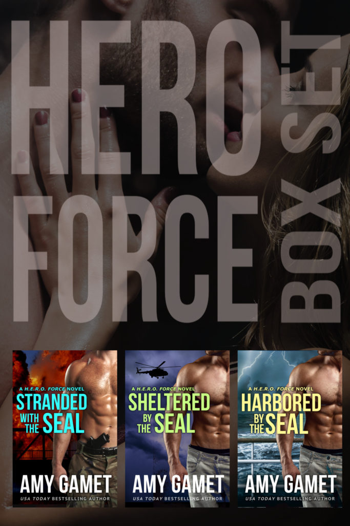 Book Cover: HERO Force Box Set: Books One - Three