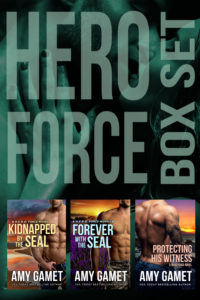 Book Cover: HERO Force Box Set: Books Seven, Eight and Shattered SEALs: Book One